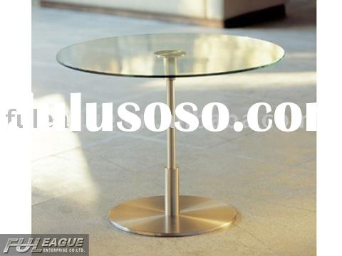 glass dining table,dining table/dining room  furniture/dining round table/modern dining table /conte