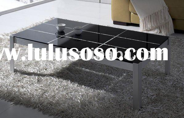high end furniture living room black coffee table