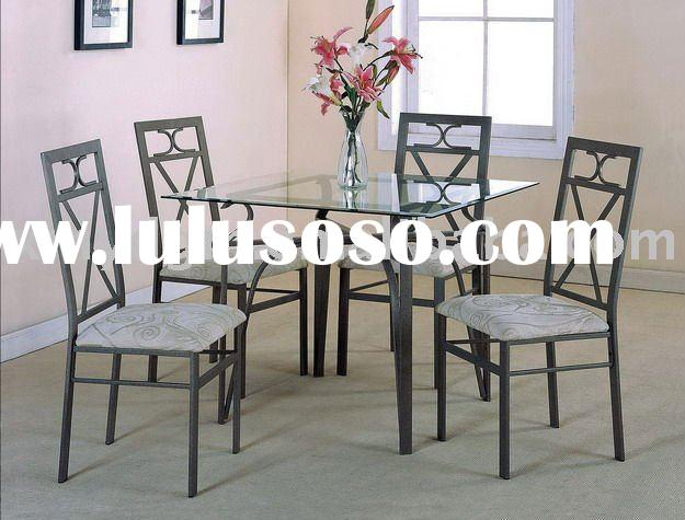home furniture new square glass dinning table MLdining-H18