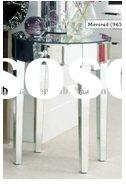 mirror round desk,Mirrored coffee table,glass coffe desk,mirrored tea table  LJ-MF056  Lydia