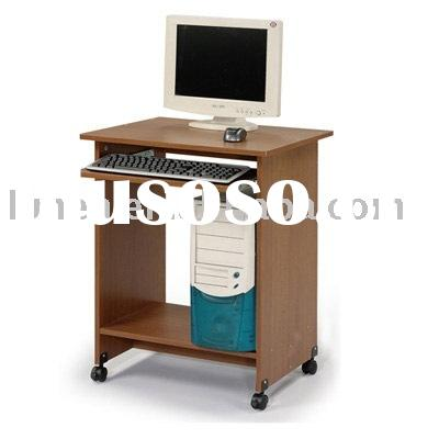 mobile wooden computer table/school computer table/student desk