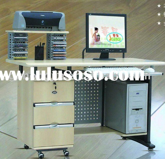 modern small wooden furniture computer table for young