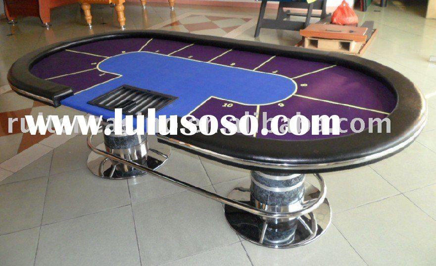 poker table, deluxe texas holdem table,casino table,gambling table