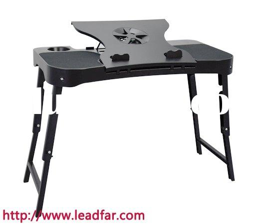 portable laptop cushion tray table with led ligh