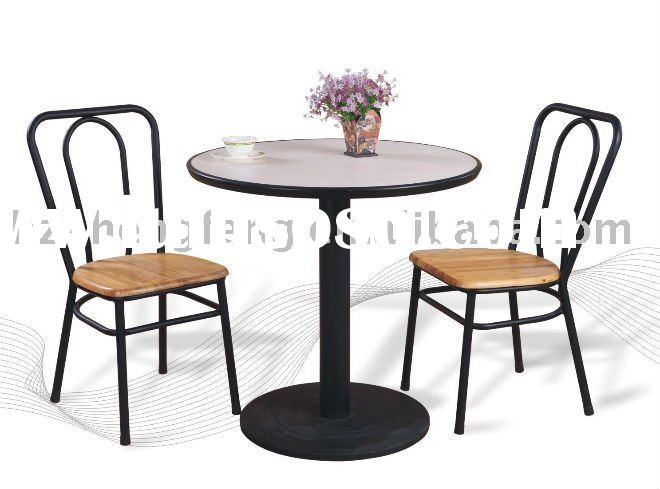 Fast food table and chair for sale price china