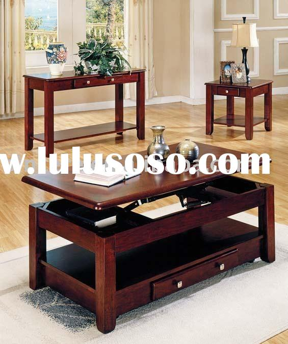 wood coffee table set/wood coffee table/wood table