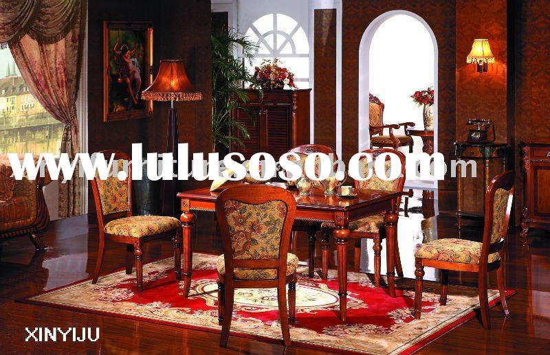 wood dining table sets FA812