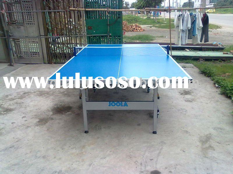 201A-2(blue) folding outdoor folding portable table tennis table