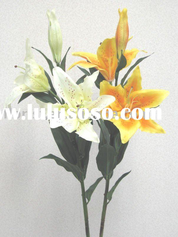 """36""""Tiger Lily x 3 (Natural Touch) artificial flower"""