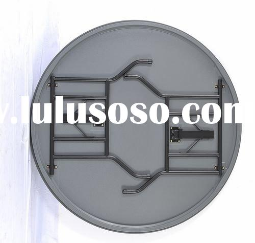 5 feet round table ABS round folding table,banquet table