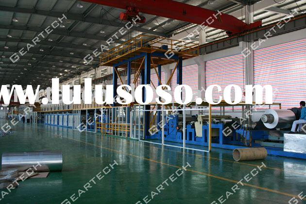 Aluminum Coating Line, aluminum coil coating line, coil coating line, color coil coating line, color