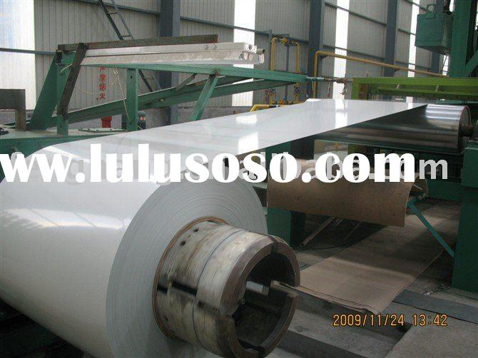 Aluminum coil coating machine