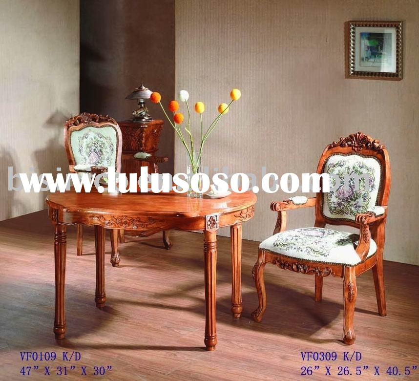 American style dining room set,oval dining table,dining chair,arm chair,side chair,classical home fu