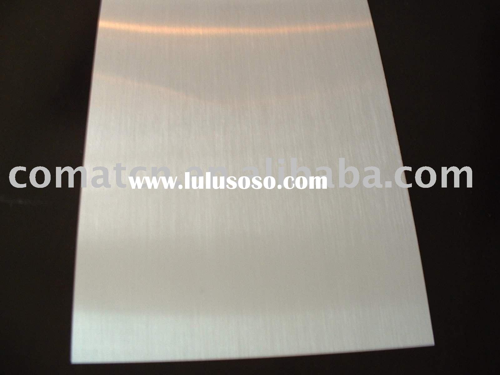 Anodized aluminium sheet for Interior/Exterior decoration