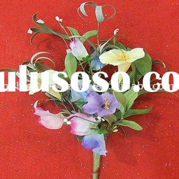 Artificial Plastic and Silk Flowers Arrangements