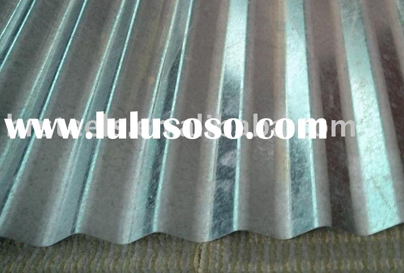 Corrugated Sheet Metal Roofing  galvanized sheet metal roofing