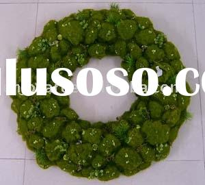 Decorative Artificial Moss Wreath Craft Flower