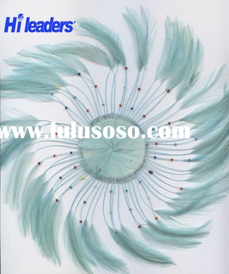 Decorative Feather Wreath