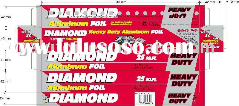 Diamond Aluminium Foil Roll