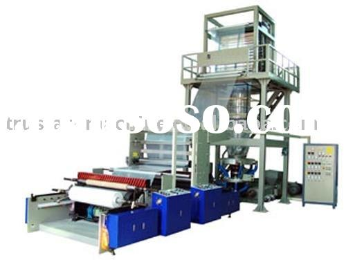 Double Layer Coextrusion Rotary Die Film Blowing Machine Set