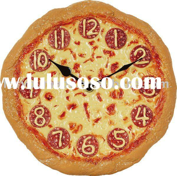 A Piece Of Pizza Clock Novelty Clock New For Sale Price