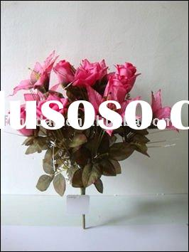 FLA0950 Decorative Wedding Flower   Rose