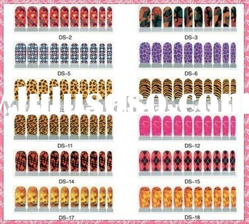 Fashion Foil Nail Sticker Nail Art DIY Self-adhesive DS-1-39
