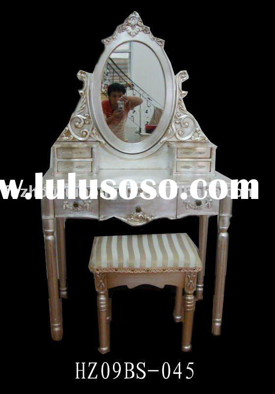 French Style Furniture of Silver Dressing Table Set