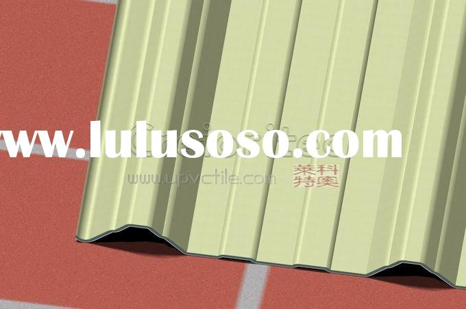 Heating Insulation UPVC Roof Tile instead of Stone coated metal roof tile  cr1005(29)