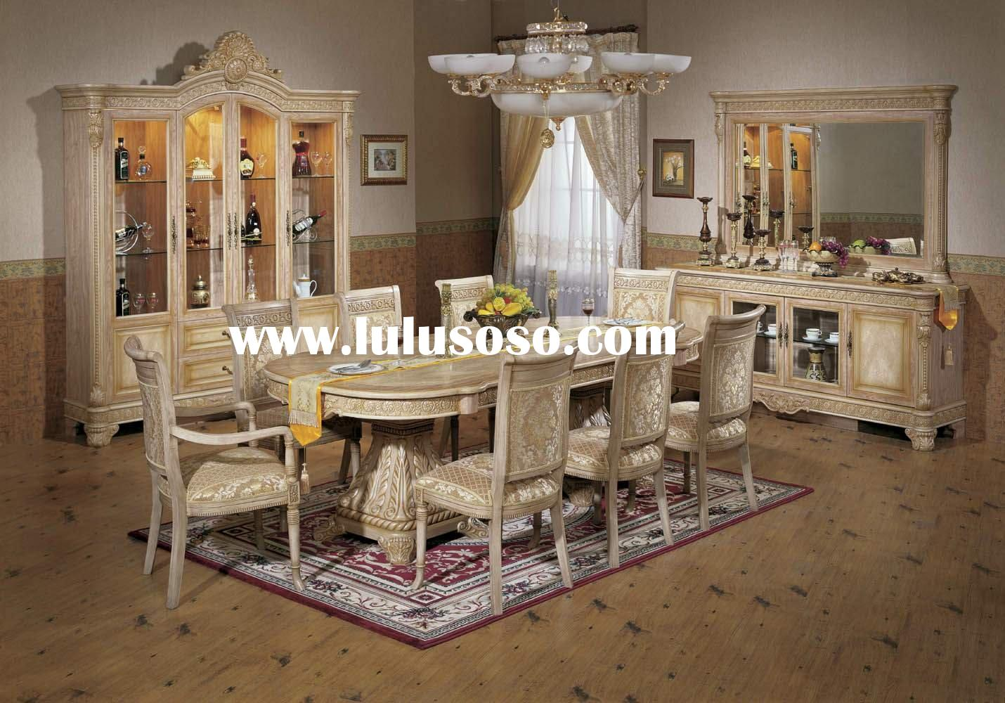 Home Furniture FG-8510C Dining Room Furniture dining set dining table chair cellaret buffet