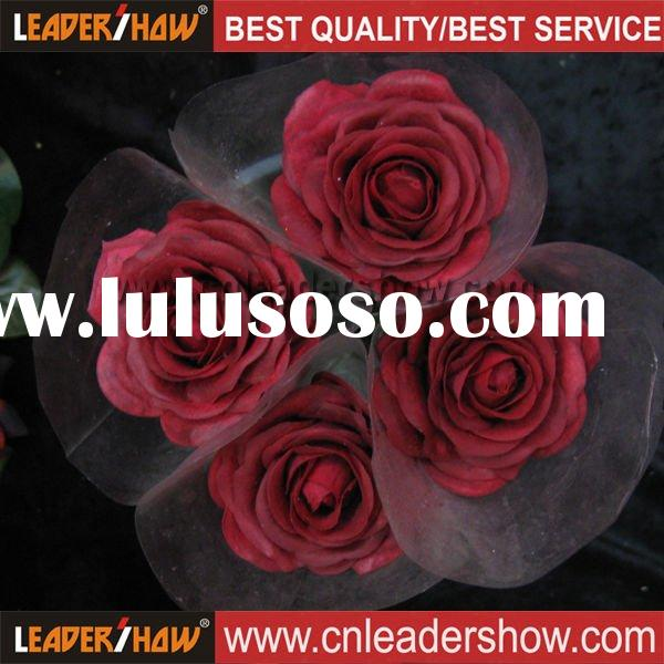 Hot Artificial Flower Red Rose