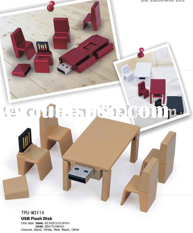 New type table set usb  flash disk