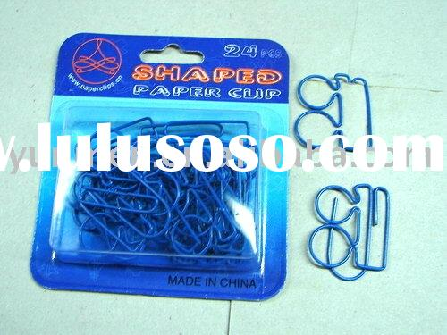 PK106--the frame of glasses Shaped Paper Clip