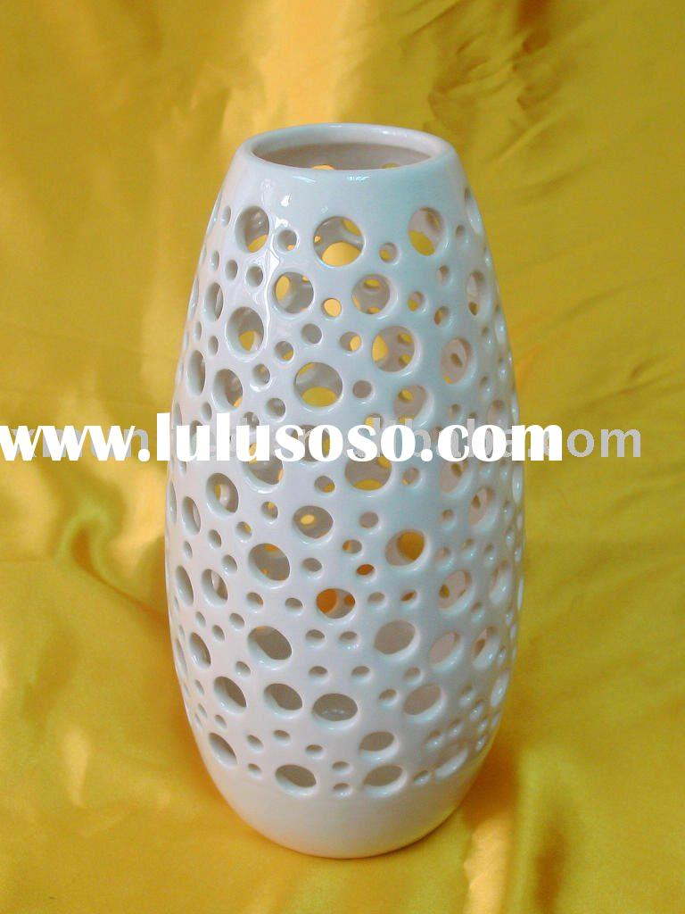 Porcelain Flower Vase Home Decorative Pot Flower Pot