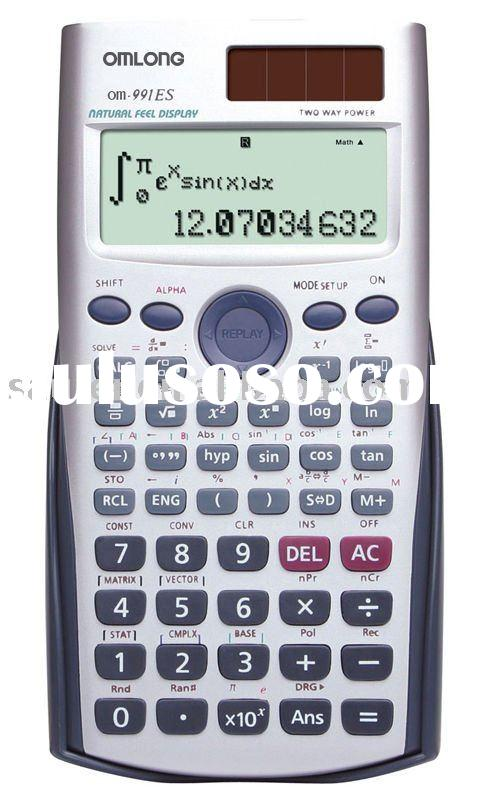 Scientific Calculator OM-991ES