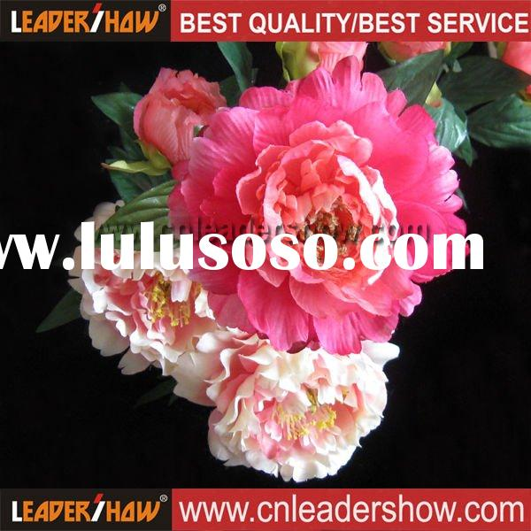 Silk Artificial Peony Flower Head