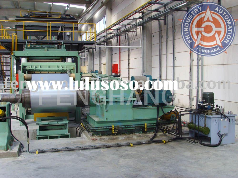 Steel & Aluminum coil rolling coating production line