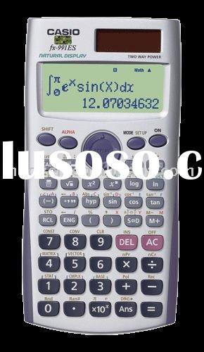 (DL2004)Scientific Calculator with Textbook Display