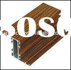 aluminum profile:wooden aluminum profile:aluminum extruded profile