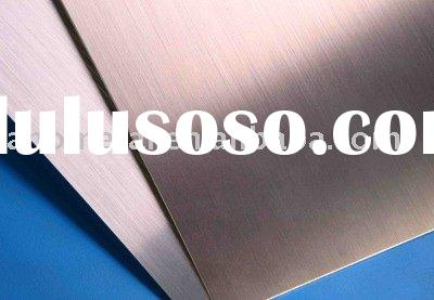 anodized aluminum coil of hairline.stainless steel surface