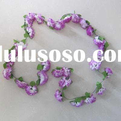 decorative artificial flower wreath