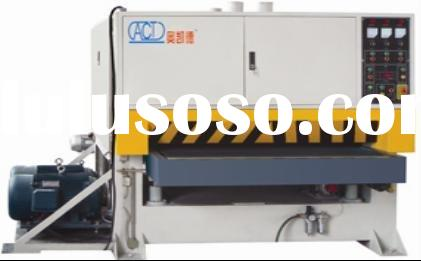 dry operation stainless steel and Aluminium sheet Grinding machine