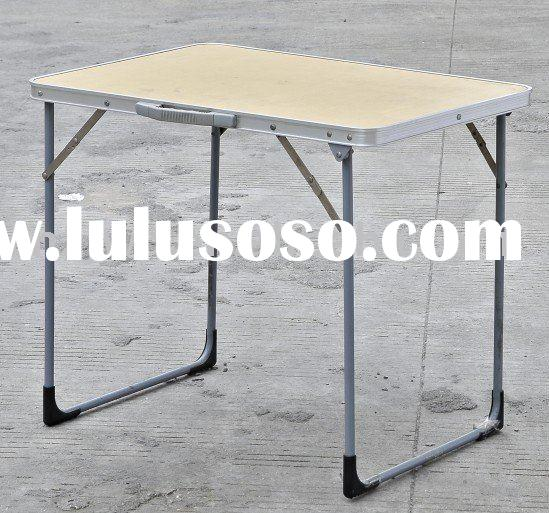 folding picnic table--small worktable