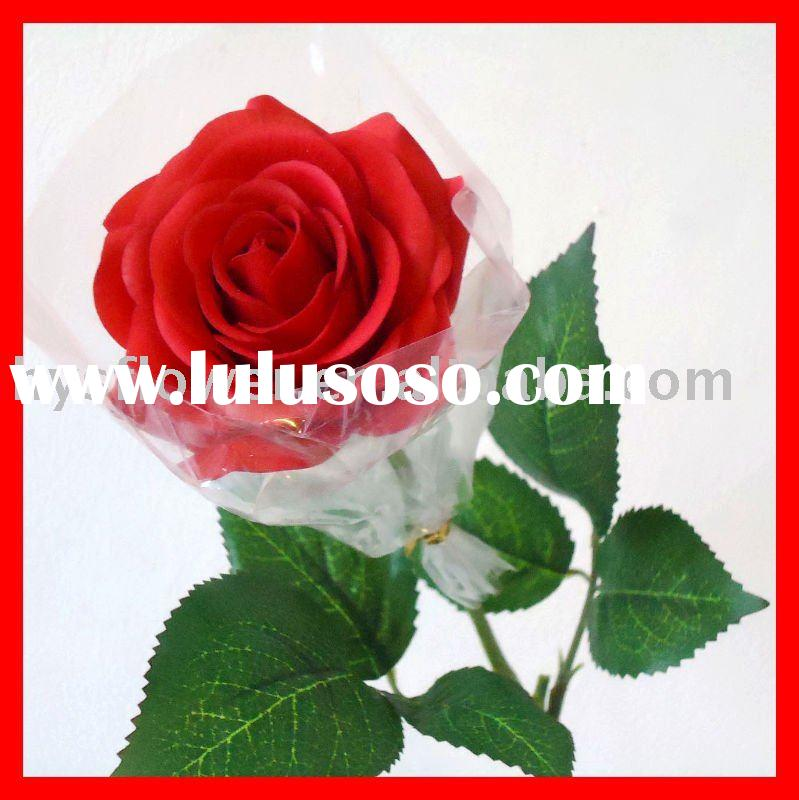 latex flower, real touch artificial rose
