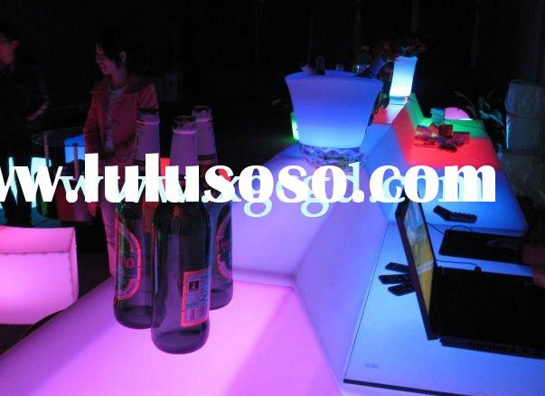 particular bar table  with LED light