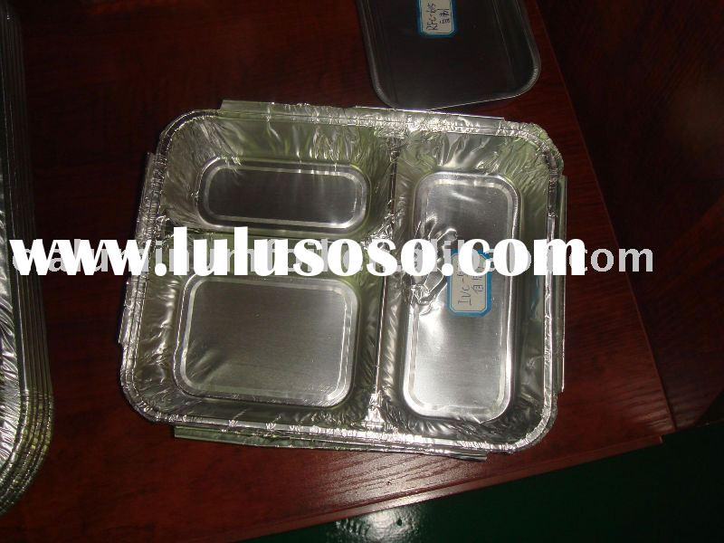 standard 3- compartment home feeding container