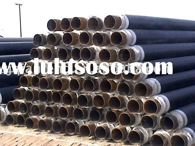 steel pipe with foam thermal insulation coating