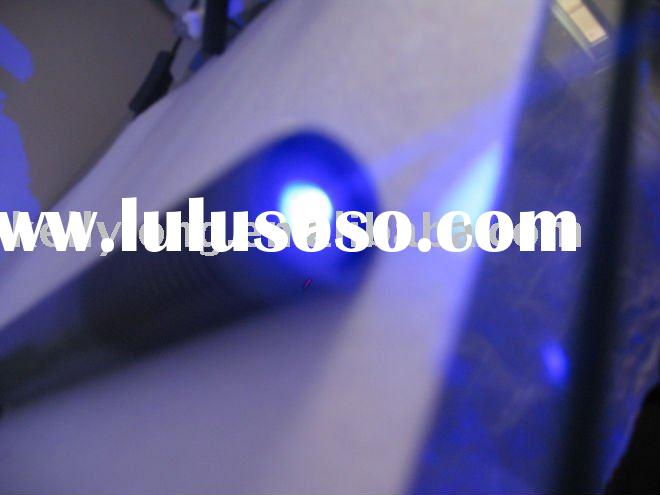 1W blue laser pointer with waterproof/focusable JLB-008