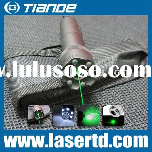 200mW Laser Pointers Green Laser Star-projected LED Flashlight Style