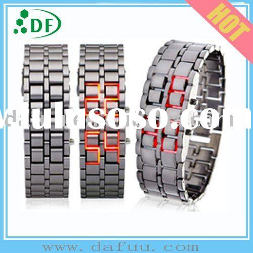 2011NEW  Christmas Gift Cool  LED flash Watch